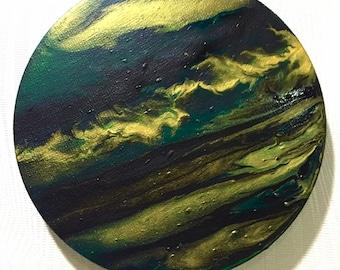 Dark emerald maelstrom 20cm diameter
