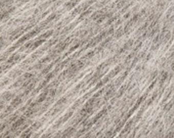 Katia Silk Alpaca Yarn - 164 yds. - DK Weight - Light Grey