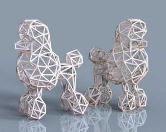 Poodle  Wireframe.