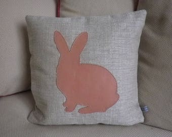 Cute Bunny III decorative cushion cover