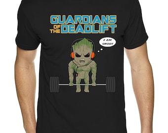 Guardians of the Deadlift Groot Tee (Pre order)