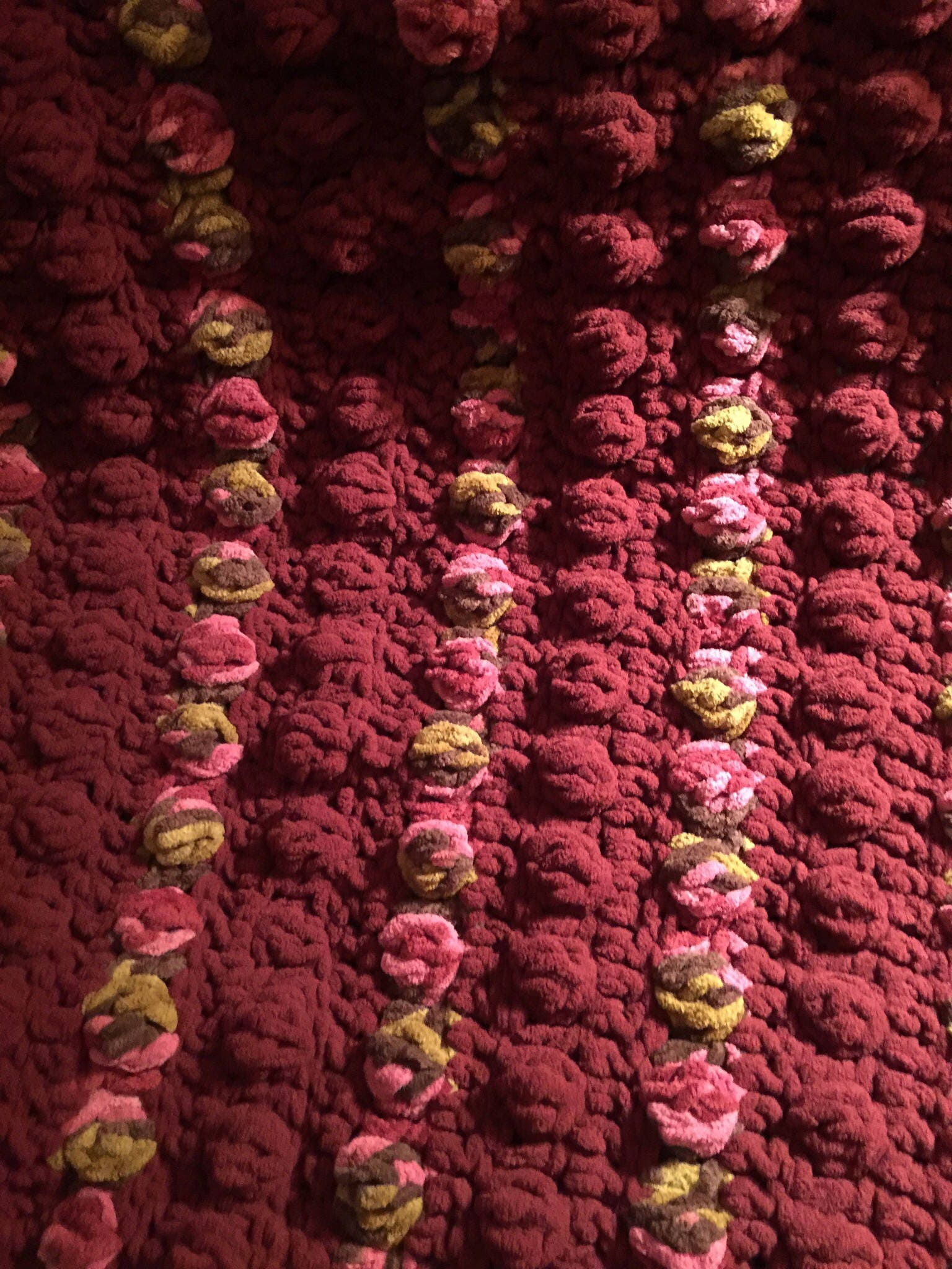 Crochet Pattern for the Bubble Wrap Blanket Used By Ashley Petta and ...