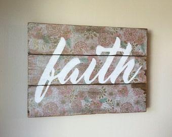 faith sign hope gift inspirational gift cancer support gift faith gift christian decor christian sign christian gift inspirational sign