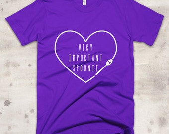 Very Important Spoonie Shirt - YOUR COLOR