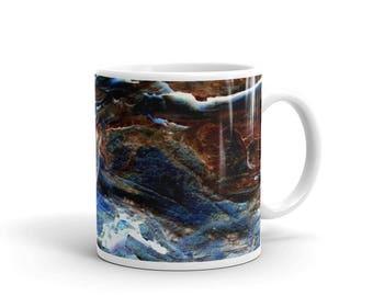Abstract Art Mug Made In The USA