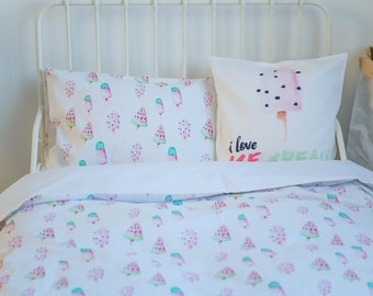 Duvet Cover, Bedding Set, Girl Duvet Cover, Girl Twin Bedding, Twin Bedding Set, Twin Bedding, Twin Duvet Cover, Girl Bedding Set