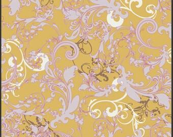 Art Gallery Bellydancer Sand Bazaar Collection by Pat Bravo - BA-403 Premium Cotton - Belly Dancer Yellow