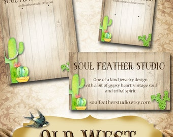 OLD WEST•Custom Tags•Labels•Earring Display•Clothing Tags•Custom •Boutique Card•Tags•Custom Tags•Custom Labels