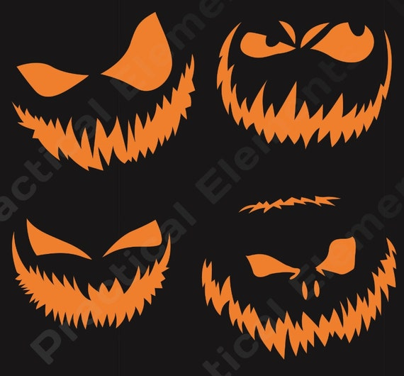 Halloween Face Templates Printable - Worksheet & Coloring Pages
