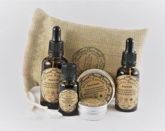 Double Sunnah Organic Fragranced Beard Cream & Beard Oil + Free Gift Bag