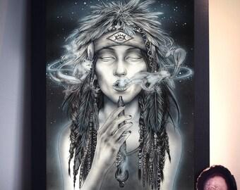 Spirit World - Shaman - Art Prints