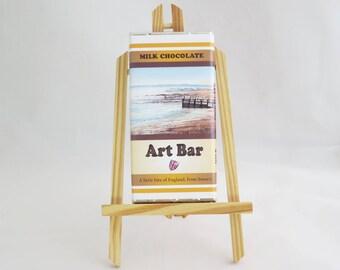 Down South Beach Art Bar, Milk Chocolate 100g