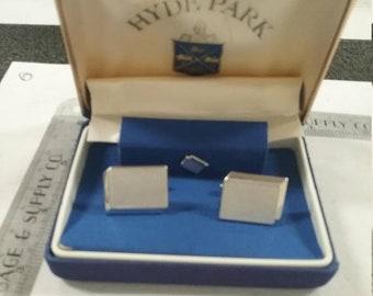 10%OFF3DAYSALE Vintage  used hyde park cufflink set