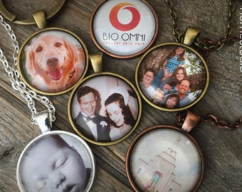 Etsy pendant necklace jewelry gifts keychains by homestudio personalized custom photo jewelry black white or color photographs family pets kids wedding dog cat mother day father dad aloadofball