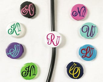 Stethoscope Name Tag, Monogram Stethoscope Accessories, RN Gift