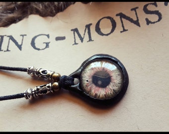 Multi colored Eye Necklace