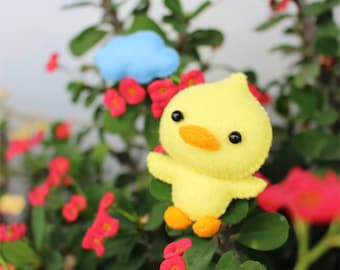 Bird doll,Felt doll,Felt bird,Bird toy,Toys,Cute bird,Bird,Cloud,Cloud doll,Stuffed toys,Stuffed bird,Soft toys