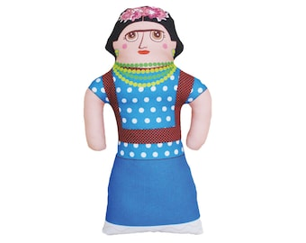 Frida Kahlo Doll - Handmade - Artist - Limited Edition