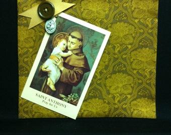 Saint Anthony Prayer Pocket