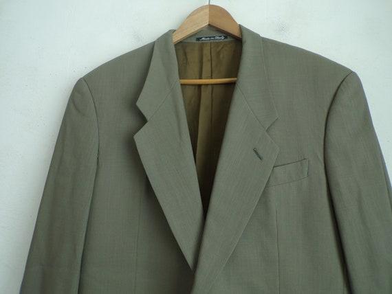 90s Sport Giorgio 90s Classic Taupe Armani Mens Armani End Coat High Size Giorgio Coat Blazer Blazer Designer Sport Taupe Blazer 42 Mens OOr1w