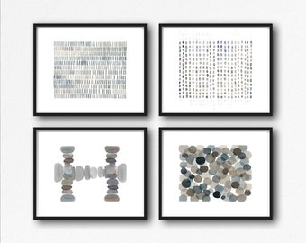 Abstract Art Set of 4 Prints