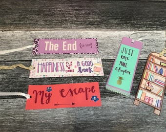 Bonnie the Bookworm's Bookmarks-Pack of 5