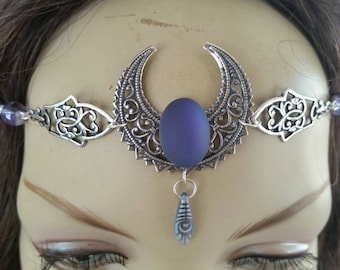 Twilight Circlet of the Moon Warrior celtic elven druid sylvan cosplay bridal