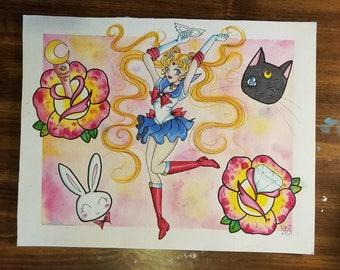 Sailor Moon Flash Sheet