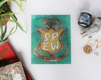 S.P.E.W. ART PRINT