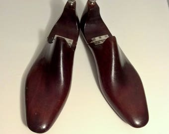 Ralph Lauren Wooden Shoe Forms Size 8 1/2 Rare Hinged Made In England Shoe Forms Home Decor Shelf Decorations Shoe Molds