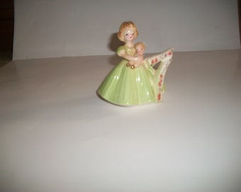 Vintage Josef Originals Birthday Angel 7 Figurine made in Japan