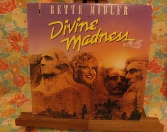 Bette Midler Divine Madness Record LP Album
