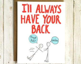Funny Friendship Card, Funny Love Card, Funny Best Friend Card, Funny Valentine Card, BFF Card, Best Friend Card, Love Card Funny