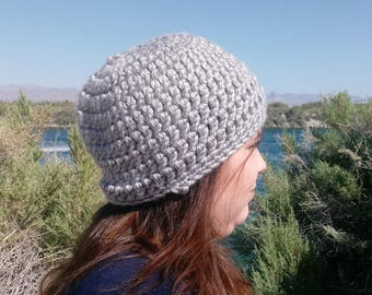 """Chunky Crochet Hat - Custom """"You Choose"""" Your Color"""