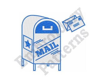 Postal Mail - Machine Embroidery Design