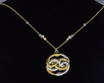 Neverending Story Auryn Necklace inspired by the movie