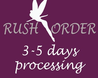 Rush Order Fee - 3-5 days processing time