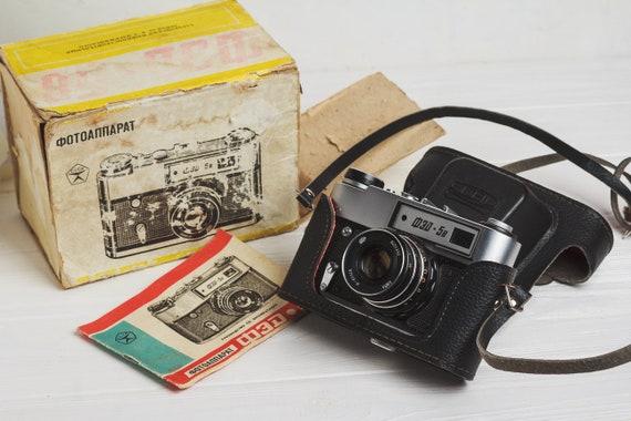 Fed 5 kamera entfernungsmesser film kamera objektiv industar