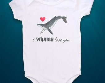 Whale baby, Cute Baby bodysuit, Unique Baby clothes, Whale bodysuit, Beach, Beach Baby, Nautical baby, Bible verse baby, Love