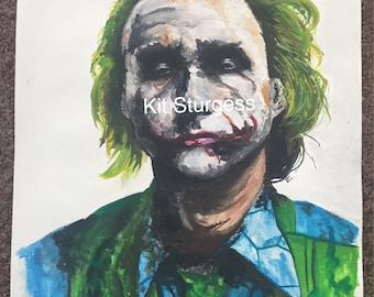 Watercolour Joker