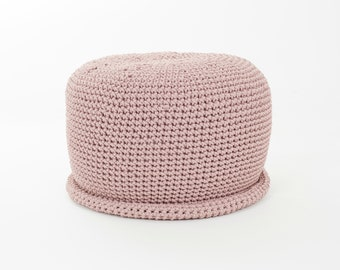 16 colors CAP POUF /floor cushion/ hypoalergic pouf/rope  poof/bean bag chair/ Ottoman