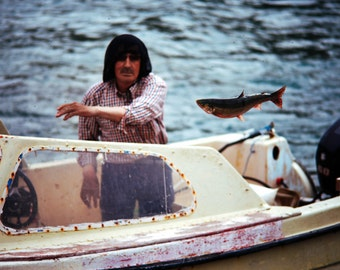 Fine Art Photography, Travel Photography, Catch and Release, Inuit fisherman