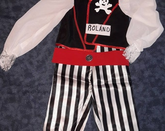 """Roland"" Pirate Costume"