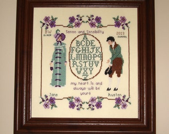 My Heart is Yours~Elinor and Edward~Sense and Sensibility~A Jane Austen Sampler