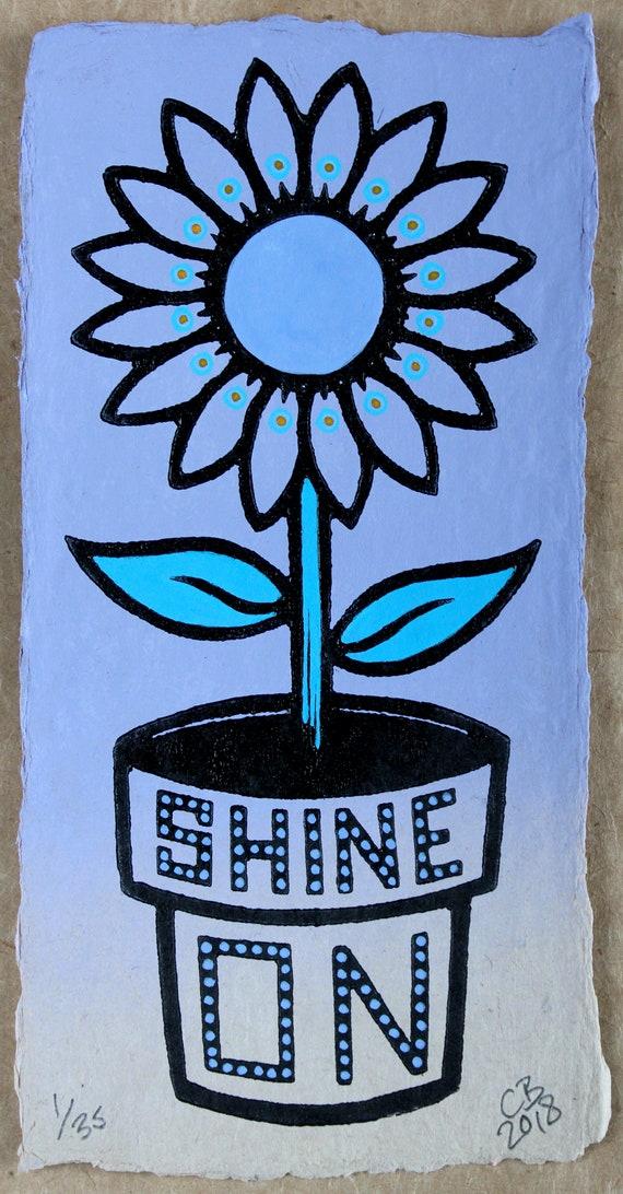 Chris Bourke lino print linocut print artist printmaker UK