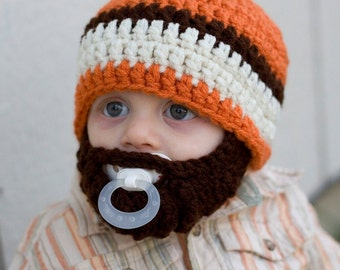 Infant ULTIMATE Carrot Bearded Beanie Mix
