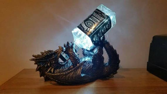 Awesome Jack Daniels Dragon Lamp