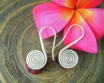 Thailand Ornaments Silver Earrings - The Simply of Life (5)