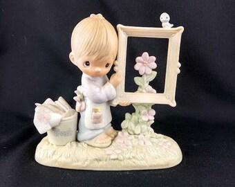 To God Be The Glory Precious Moments Figurine