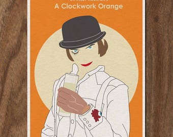 A Clockwork Orange Stanley Kubrick Limited Edition Print